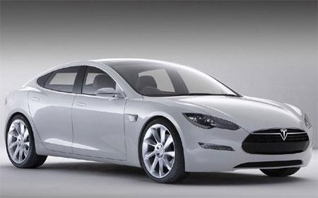 Tesla Model S Auto Zonder Bpm
